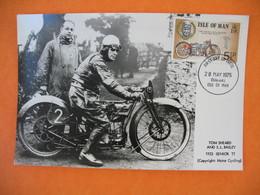 Carte Moto  Tom Sherard And S.L. Bailley  1923 Senior  TT - Motos