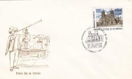 CAJAMARCA, PATRIMONIO HISTORICO Y CULTURAL DE LAS AMERICAS-FDC ENVELOPE 1998 PERU - BLEUP - Perú