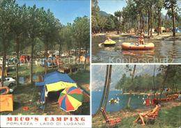 72039991 Porlezza Lombardei Mecos Camping Lago Di Lugano Strand Schlauchboot - Sin Clasificación
