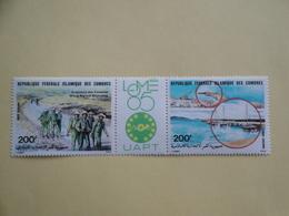 1985 Comores Yv  PA 212A ** MNH Philexafrique Bateaux Ships   Cote 7.00 € Michel 735 / 736 - Comores (1975-...)