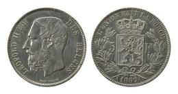 LEOPOLD II * 5 Frank 1869 * Z.Fraai / Prachtig * Nr 9868 - 1865-1909: Leopold II