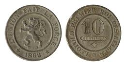 LEOPOLD I * 10 Centiem 1862 * Z.Fraai / Prachtig * Nr 9865 - 1831-1865: Léopold I