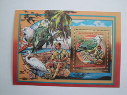 1989 Comores Yv BF  PA 272 ** MNH  Scout  Oiseaux Birds  Cote  18.50 €  Michel B 294 - Comores (1975-...)