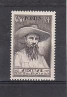Auguste Pavie - 1947 - YT N°784** 4fr50 Brun Foncé - France