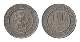 LEOPOLD I * 10 Centiem 1862 * Prachtig * Nr 9866 - 1831-1865: Léopold I
