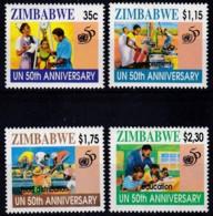 Zimbabwe, 1995, 564/67, 50 Jahre Vereinte Nationen (UNO).  MNH ** - Zimbabwe (1980-...)