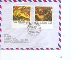 Chili ( Lettre De 1987 De Talca Vers La Grande-Bretagne à Voir) - Chili