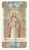 Souvenir De Communion Solennelle Pierre CESCHI Eglise St Antoine Chatelineau Taillis-Pré 1937 (Jésus) - Communion