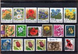 Thème Fleurs, Lot De 18 Timbres, Lot N° 10 - Autres