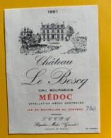 9818 - Château Le Boscq 1981 Médoc - Bordeaux