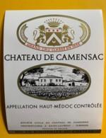 9832 -  Château De Camensac Haut- Médoc - Bordeaux