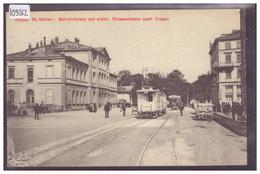 ST GALLEN - BAHNHOFPLATZ - STRASSENBAHN - TRAIN - TRAMWAY - TB - SG St. Gall
