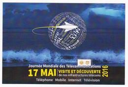 Polynésie Française / Tahiti - Carte Postale Prétimbrée à Poster 2016 Entier - Journée Mondiale Des Télécommunications - Non Classés