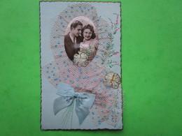 Couple  - Carte Postale  (datée Du 30.03.1945) - Couples
