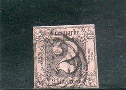 THURN UND TAXIS 1852 O - Tour Et Taxis