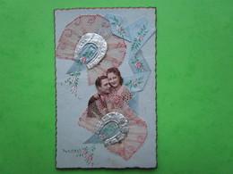 Couple  - Carte Postale  (datée Du 16.03.1945) - Couples