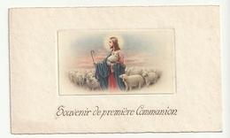 Souvenir De Communion Solennelle Roger BOLLETTE Lambermont 1939 (ed.Gilon Verviers) Recto Souvenir De Première Communion - Communion