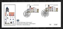 2009 Joint/Gemeinschaftsausgabe UN Vienna And Germany, OFFICIAL MIXED FDC BOTH STAMPS: World Heritage Sites - Gezamelijke Uitgaven