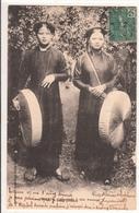 CPA- TONKIN - Nam-Dinh - Femmes- 2scans - Vietnam