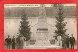 AUTHIE - Monument Aux Morts - - Sonstige Gemeinden