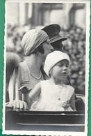 ! - Belgique - CP - La Reine Astrid Et Sa Fille Joséphine-Charlotte - Familles Royales