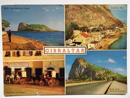 C.P.A. : GIBRALTAR : 4 Views : Andrew Torres Sons Grocery Tobacco, Catalan Bay,... - Gibraltar