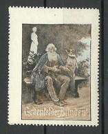 Germany 1908 Blindenhilfe Charity For Blind People Vignette * - Behinderungen