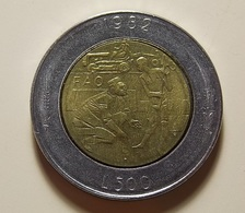 San Marino 500 Lire 1982 Varnished - Saint-Marin