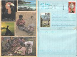 PAPUA NEW  GUINEA 1987 AEROGRAMME Sent To Switzerland AEROGRAMME USED - Papua New Guinea