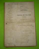 Ardeche 1884 :Chemin De St Peray à St George; Commune De Toulaud Entre Le Ruisseau Des Champs & L'entreprise Lafont - Europe