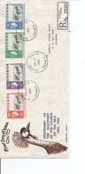 Ouganda - Découverte De La Source Du Nil ( FDC De 1962 Voyagé En Recommandé Vers Nairobi à Voir) - Uganda (1962-...)