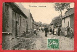 FORCEVILLE - Rue D'En-Bas - (Belle Animation) - - Autres Communes