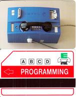ITALY - Urmet Cardphone, Urmet Programming Card, Mint - Telephones