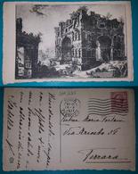 Cartolina Roma - (Monumento). Viaggiata 1917 - Altri
