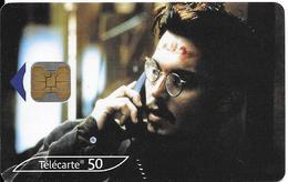 CARTE°-PUBLIC-F1095A-OB2-11/00-N°Gras--J DEEP-Série Cinéma 15-UTILISE-TB E- - France