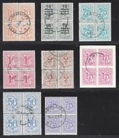 HERALDISCHE LEEUW/BLOK VAN 4 - 1951-1975 Heraldic Lion