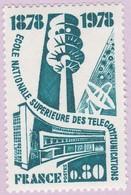 N° Yvert & Tellier 1984 - Timbre De France (Année 1978) - MNH - 100è École Nat. Sup. Télécommunications - France