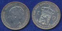 Niederlande 1 Gulden 1940 Wilhelmina Ag720 - 1 Gulden