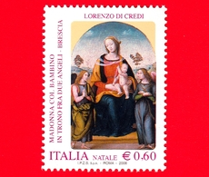 Nuovo - MNH - ITALIA - 2008 - Natale - Madonna Col Bambino - 0,60 - 1946-.. République