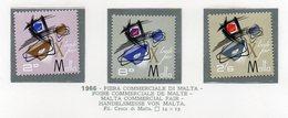 Malta - 1966 - Fiera Commerciale Di Malta - 3 Valori - Nuovi - Vedi Foto - (FDC14007) - Malta