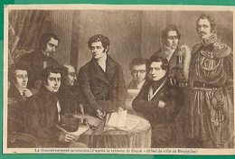 ! - Belgique - CP - Gouvernement Provisoire à L'Indépendance De La Belgique - Autres