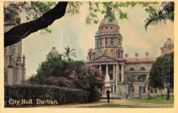 R178337 City Hall. Durban. Newman Art Publishing - Cartes Postales