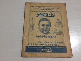 PROTÈGE CAHIER Ancien YOUPA LA BÉBÉ HEUREUX - Protège-cahiers
