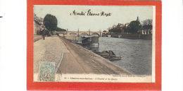 Chalon Sur Saône.L'Hôpital Et Les Quais - Chalon Sur Saone