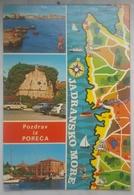 POREC Yugoslavia (Croatia) - Pozdrav Iz Poreca - Jadransko More   Vg - Jugoslavia