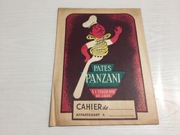 PROTÈGE CAHIER Ancien PATES PANZANI ITALIENNE - Protège-cahiers
