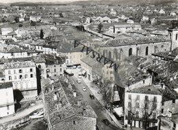 CPSM  Le Muy  L'église  Et La Grande Rue - Le Muy