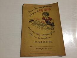 PROTÈGE CAHIER Ancien PÂTE ÉCLAIR - Protège-cahiers