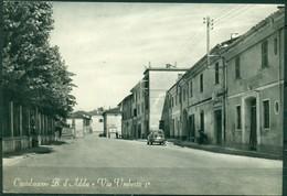 CARTOLINA  - CV1379 CASTELNUOVO BOCCA D'ADDA (Lodi LO) Via Umberto I, FG,  Viaggiata 196..., Ottime Condizioni - Lodi