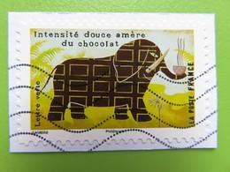 Timbre France YT 1457 AA - Le Goût - Chocolat - 2017 - Adhésifs (autocollants)